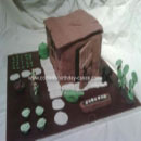 Garden Sheds and Allotments Birthday Cakes