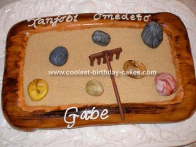 Zen Garden Cake