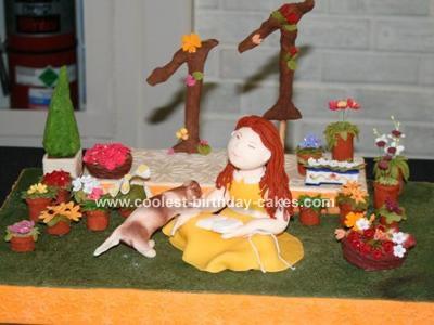 Garden Scene Cake