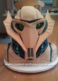 Homemade General Grievous Cake