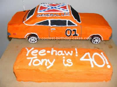 Coolest General Lee Car Cake 47