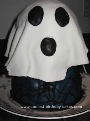 Homemade Ghost Cake
