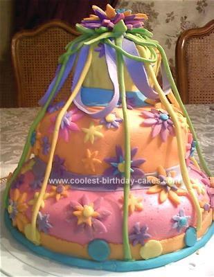Homemade Gift  Birthday Cake