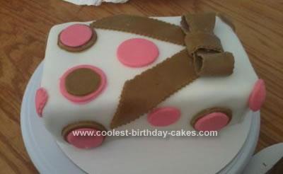 Homemade Gift Cake