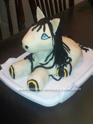 Homemade Girl's Pony Fanatic Cake