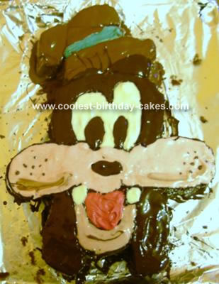 Homemade Goofy Cake