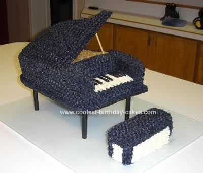 Create Baby Picture on Coolest Grand Piano Cake 8