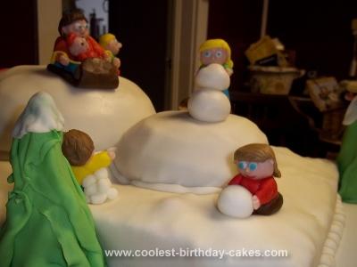Homemade Grandpa's 60th Birthday Cake