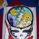 Grateful Dead Birthday Cakes