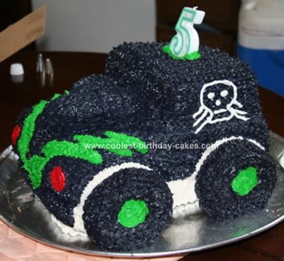 Monster Truck Birthday Cake on Coolest Gravedigger Monster Truck Cake 29