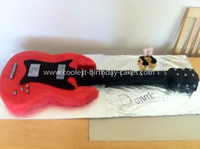 Coolest Guitar Cake