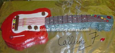 Electric Guitar Cake Tin Uk