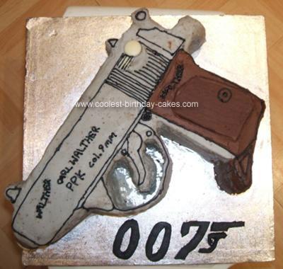 Nerf Gun Cake Ideas