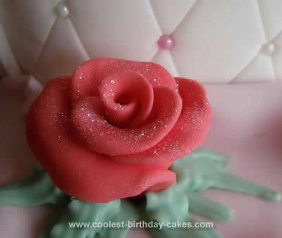 Homemade Handbag Cake