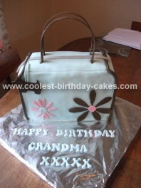 Homemade Handbag/Purse Birthday Cake Idea