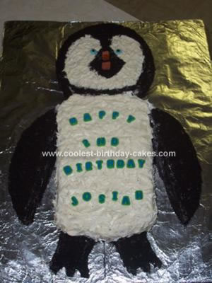 Coolest Happy Feet Birthday Cake 20