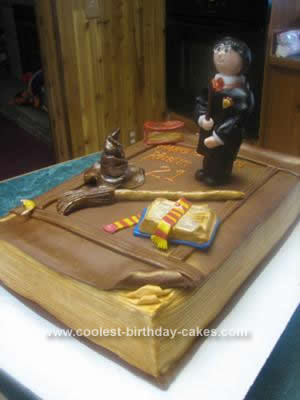 Harry Potter Birthday Cake on Coolest Harry Potter Birthday Cake Design 11