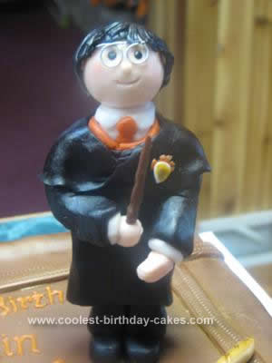 Homemade Harry Potter Birthday Cake Design