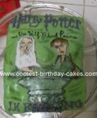 Harry Potter and the Half Blood Prince Cake