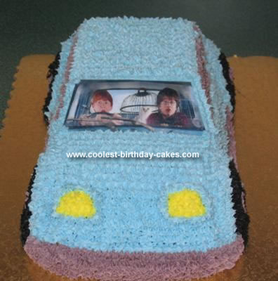 toy story birthday cake Coolest Homemade Monster Book Harry Potter