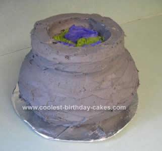 Homemade Harry Potter Cauldron Birthday Cake