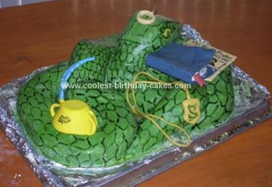 Homemade Harry Potter Horcrux Cake