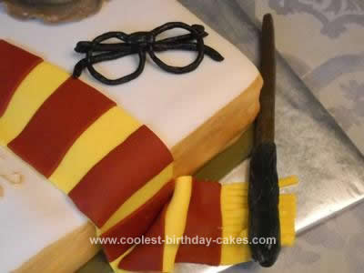 Harry Potter Birthday Cake on It All Of Monsters Plays