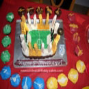 Quidditch Stadium Birthday Cakes
