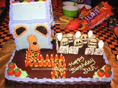 Halloween Graveyard Cake Recipes