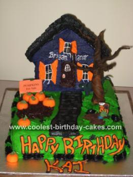 Haunted House Cake 10