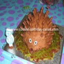 Hedgehog Birthday Cakes