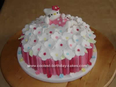 Kitty Birthday Cakes on Coolest Hello Kitty Birthday Cake 145