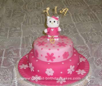 Kitty Birthday Cakes on Coolest Hello Kitty Birthday Cake Idea 166