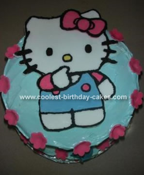 Kitty Birthday Cakes on Coolest Hello Kitty Cake 61