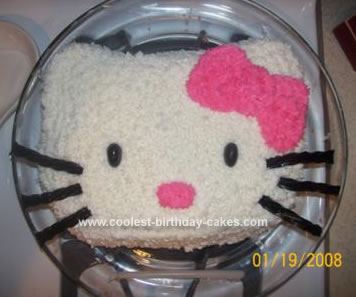 Kitty Birthday Cakes on Coolest Hello Kitty Cake 72