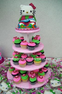 Amazing Birthday Cakes on Hello Kitty Cake  Cupcakes And Cookies