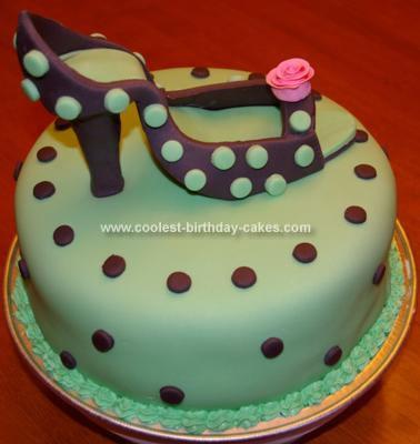 High Heel Birthday Cake