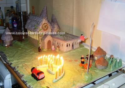Harry Potter Birthday Cake on Coolest Hogwarts Birthday Cake 9