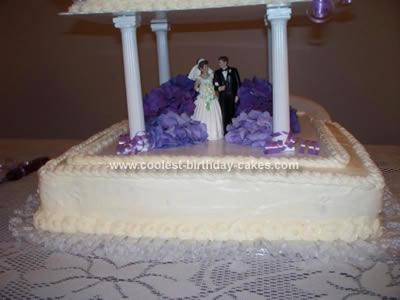 Coolest Homemade 25th Anniversary Cake