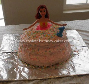 Coolest Homemade Barbie Cake