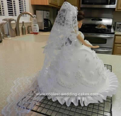 Coolest Homemade Bridal Shower Doll Cake