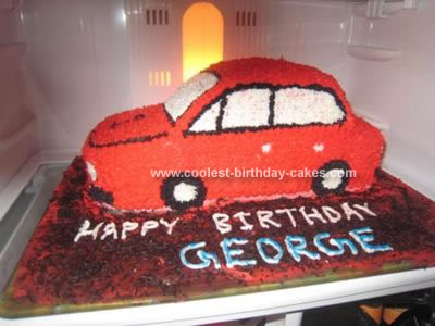 Cars Birthday Cake Birthday Party Ideas