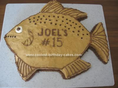 Fish Birthday Cakes. Fish 56, Fish Cake Fish 55