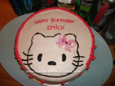 Homemade Birthday Cakes on Coolest Homemade Hello Kitty Birthday Cake 132