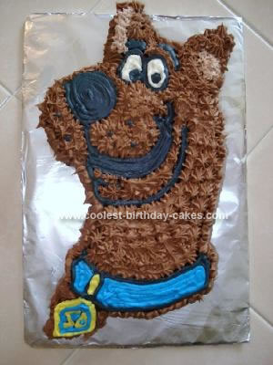 Scooby doo cakes 5 for Scooby doo cake template