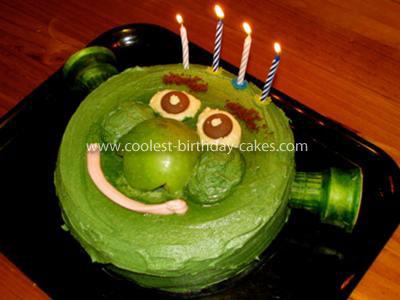 Shrek Birthday Cake | Birthday Cakes
