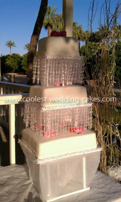 Coolest Homemade Tiered Wedding Cake