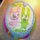 Hoops and Yoyo Birthday Cakes