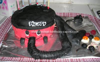 Coolest Hoover Vacuum Cake