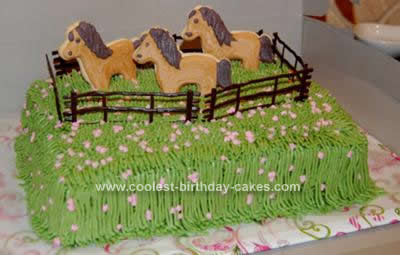 birthday cake pictures Coolest Horse Head Cake